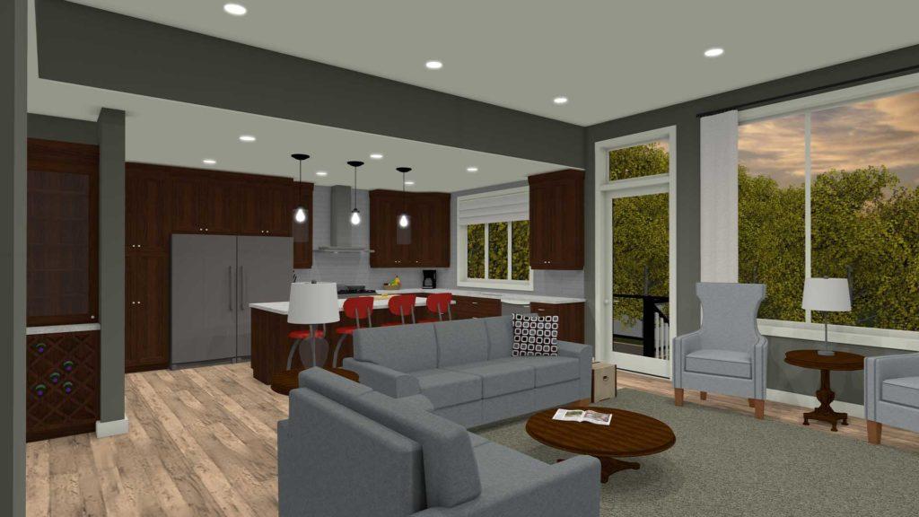 Winnipeg home renovation and addition design & drafting